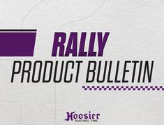 Hoosier Introduces Four New Sizes for Rally