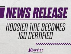 Hoosier Tire Becomes ISO Certified