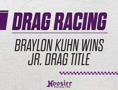 Braylon Kuhn Captures 13 to 14-Year Old Division One Jr. Dragster Title